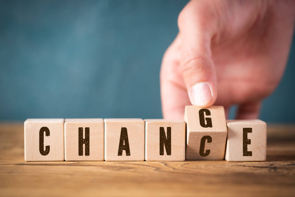 Change is a Chance